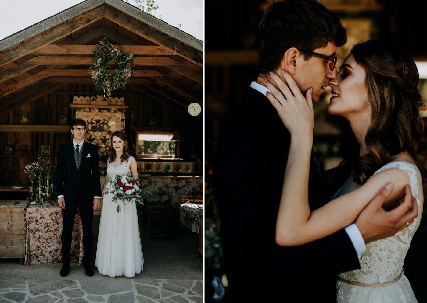 Sesja ślubna w stodole u Jojo - Monika i Kamil 10