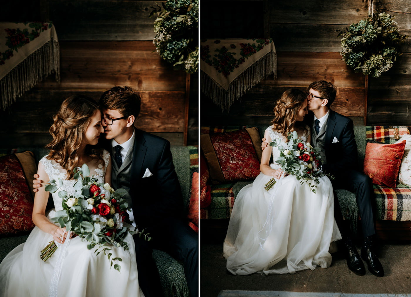 Sesja ślubna w stodole u Jojo - Monika i Kamil 4