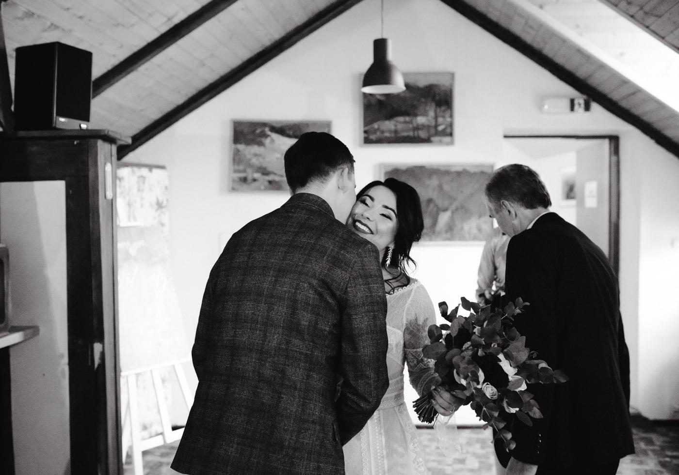 Zimowy ślub Dagmara i Michał - Willa Poprad w Rytrze 22