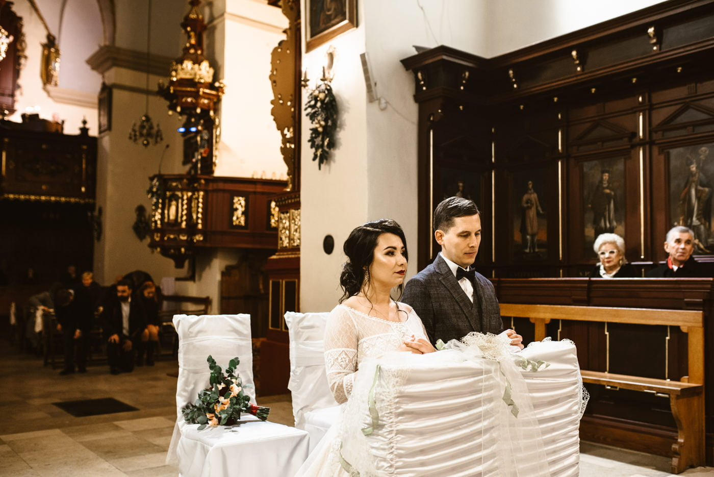 Zimowy ślub Dagmara i Michał - Willa Poprad w Rytrze 37