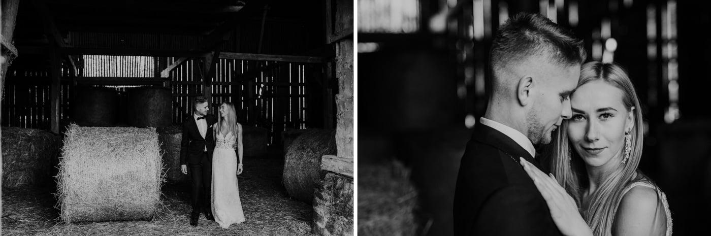 Plener Ślubny w starej stodole - Basia i Marcin 29