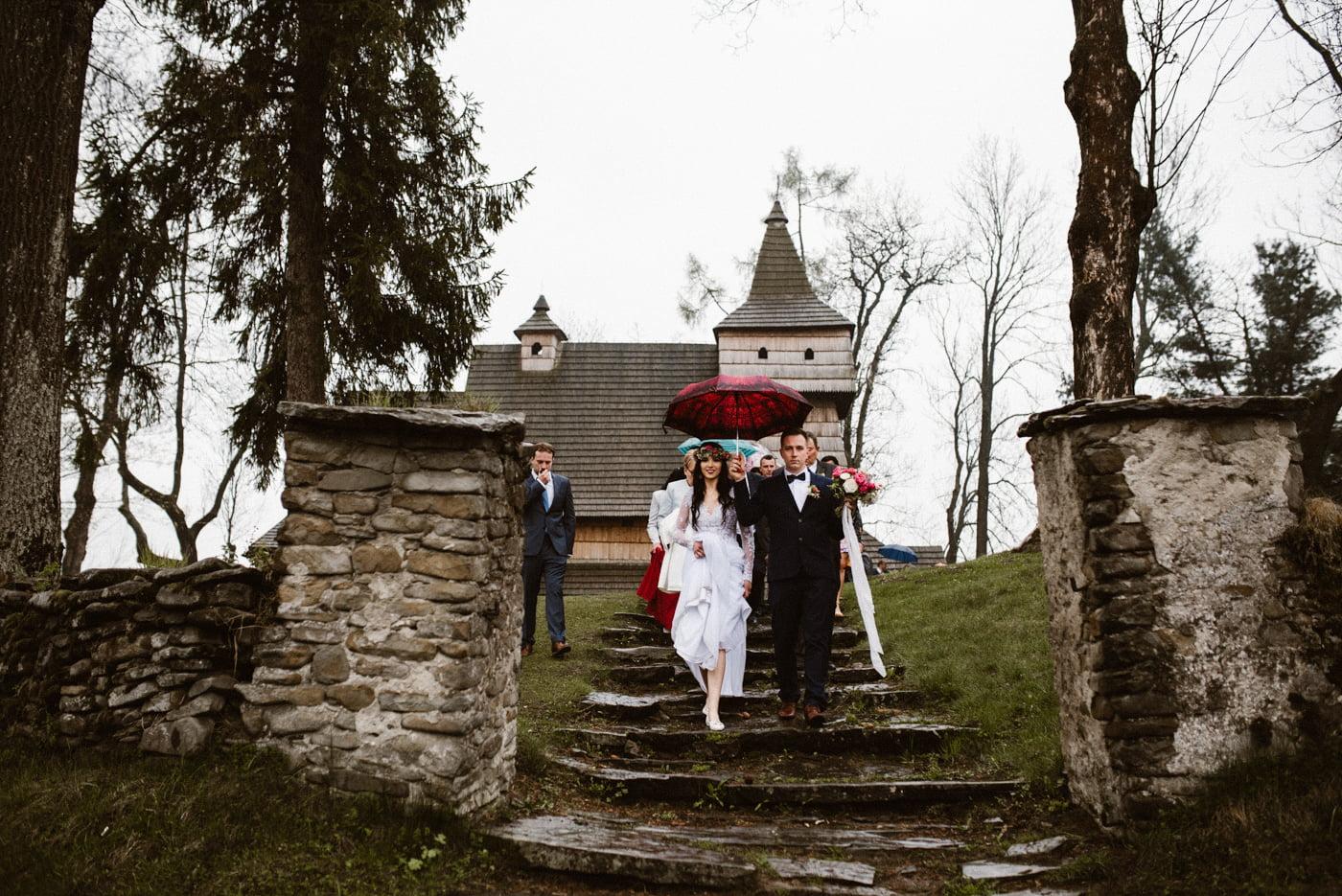 Karczma Koliba - ślub Magdy i Rafała 45
