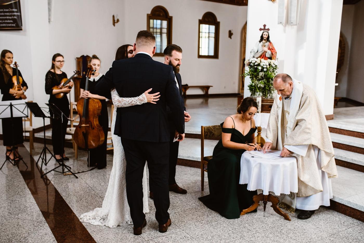 Karczma Koliba - Ślub Kasi i Piotrka 34