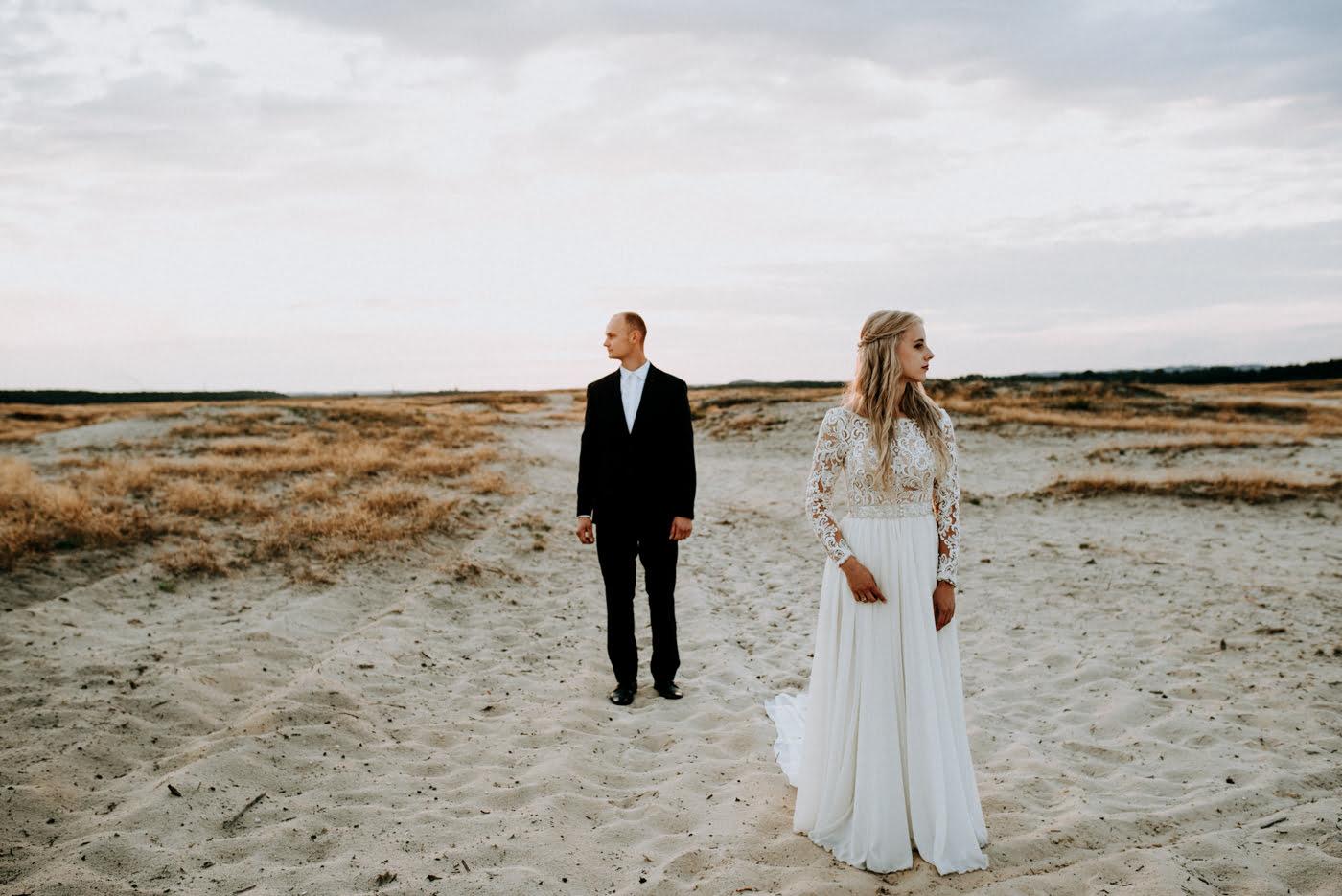 Sesja na pustyni Błędowskiej - Martyna i Mateusz 13