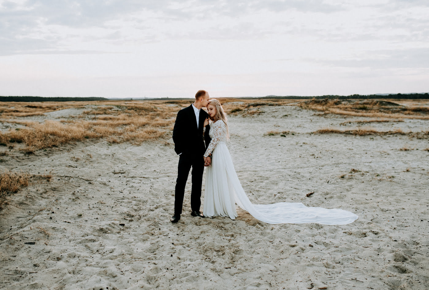 Sesja na pustyni Błędowskiej - Martyna i Mateusz 10