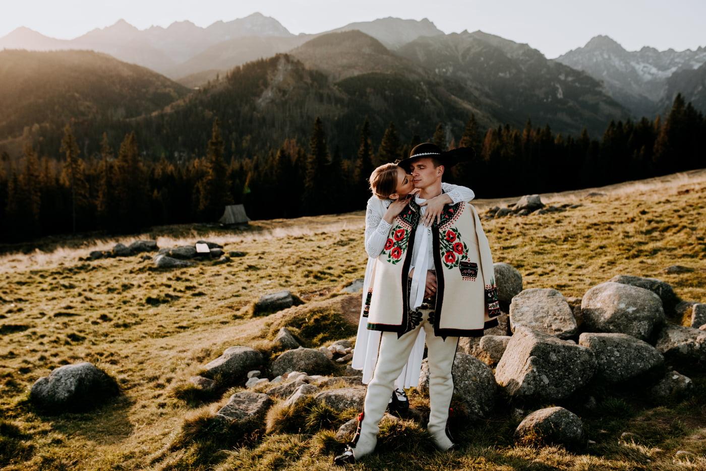 Sesja ślubna w Tatrach - Tradycyjnie 14