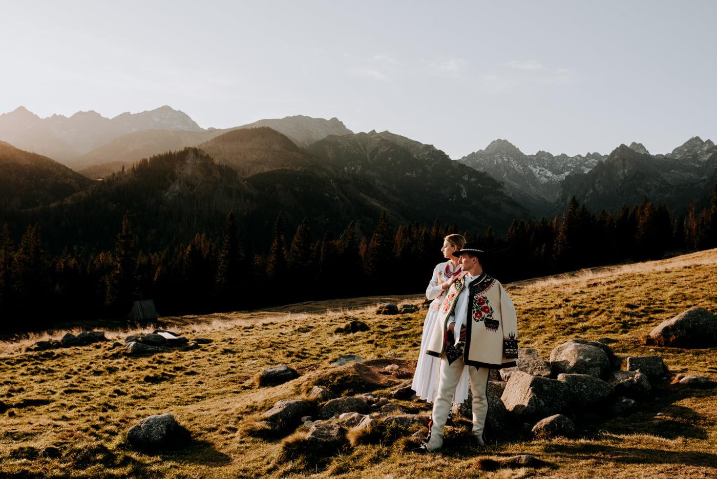 Sesja ślubna w Tatrach - Tradycyjnie 12