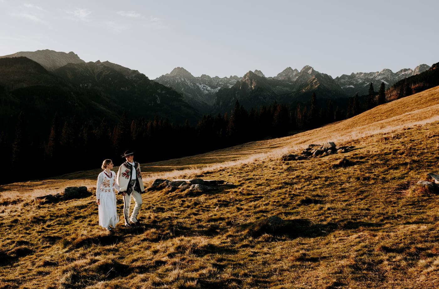 Sesja ślubna w Tatrach - Tradycyjnie 13