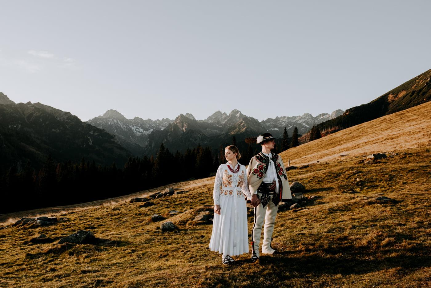Sesja ślubna w Tatrach - Tradycyjnie 16