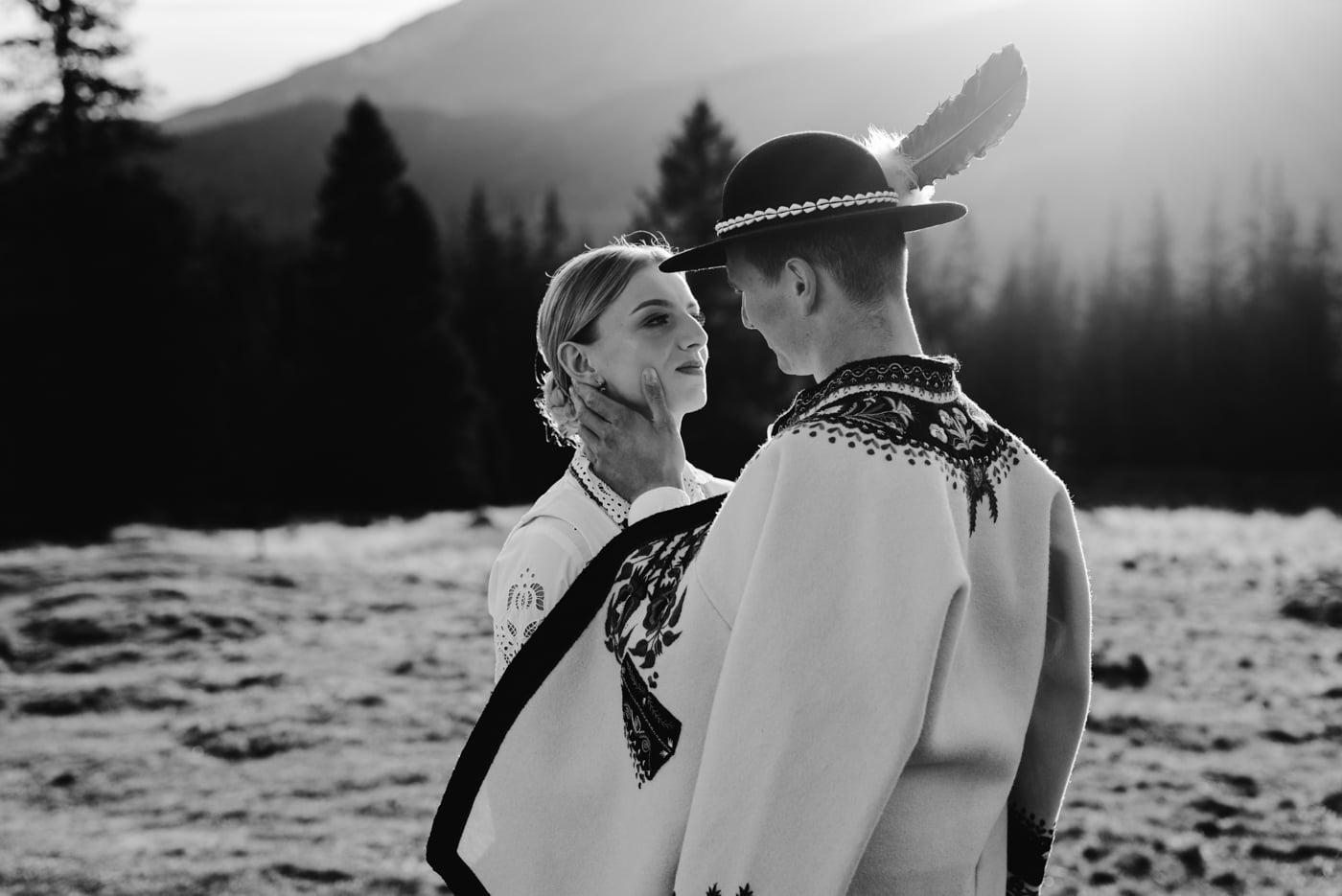 Sesja ślubna w Tatrach - Tradycyjnie 15