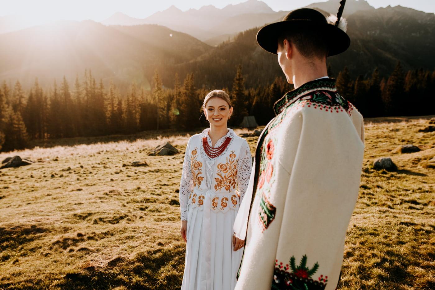 Sesja ślubna w Tatrach - Tradycyjnie 19