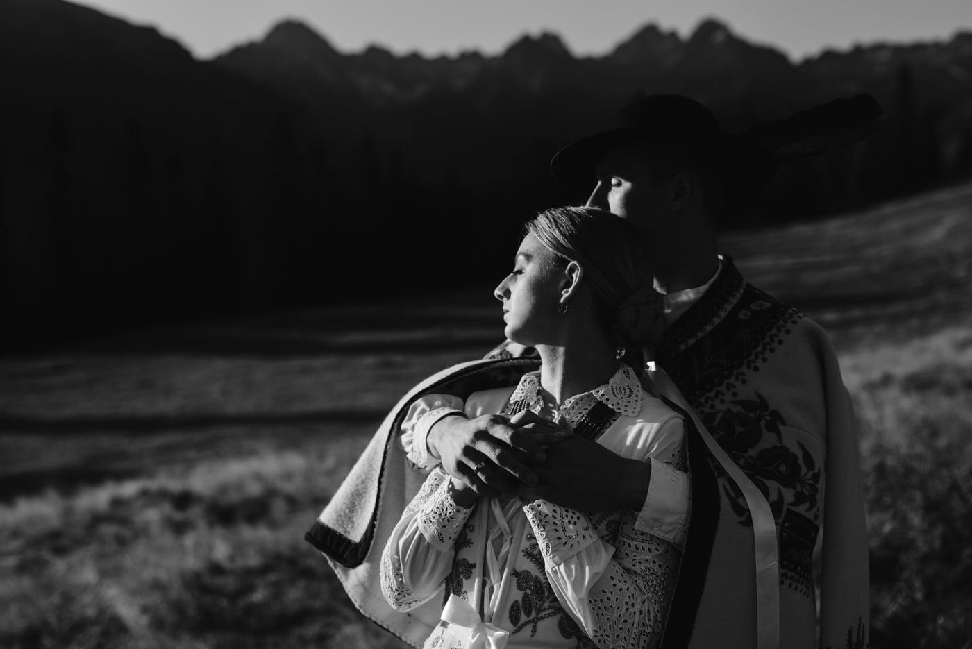 Sesja ślubna w Tatrach - Tradycyjnie 20