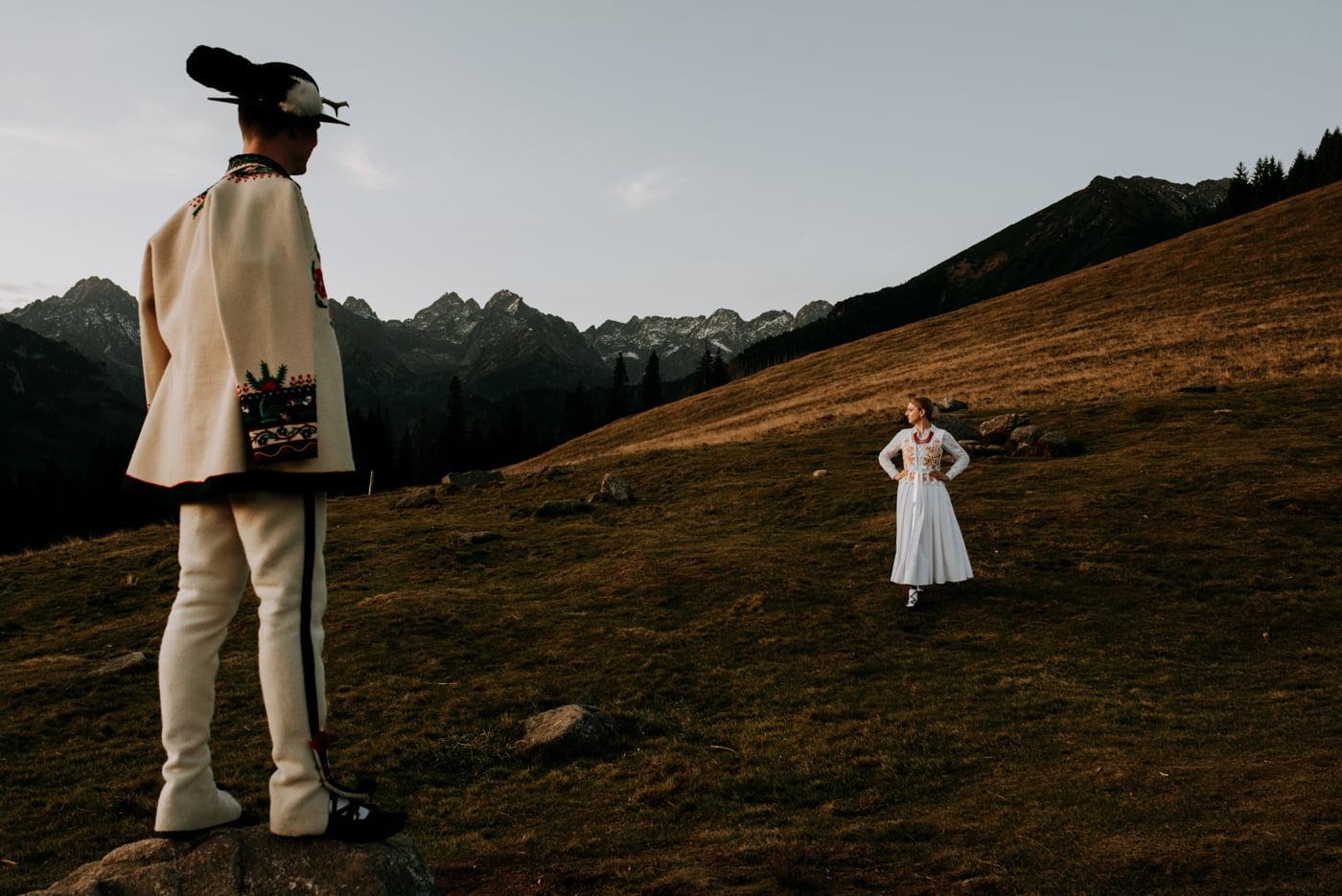 Sesja ślubna w Tatrach - Tradycyjnie 3