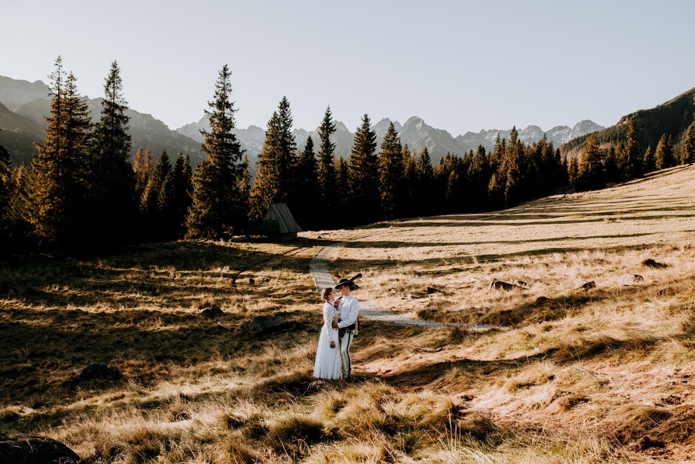 Sesja ślubna w Tatrach - Tradycyjnie 26
