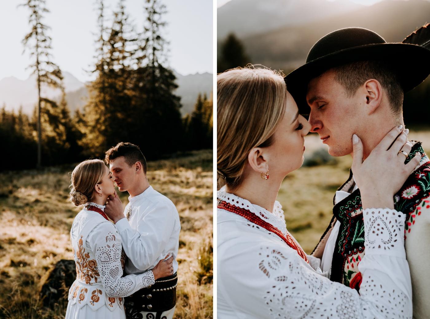 Sesja ślubna w Tatrach - Tradycyjnie 25