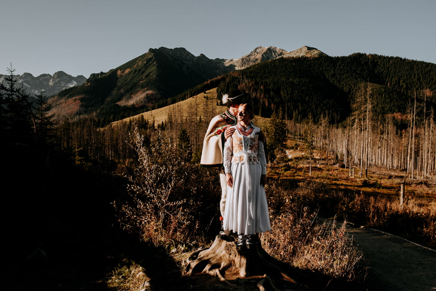 Sesja ślubna w Tatrach - Tradycyjnie 29