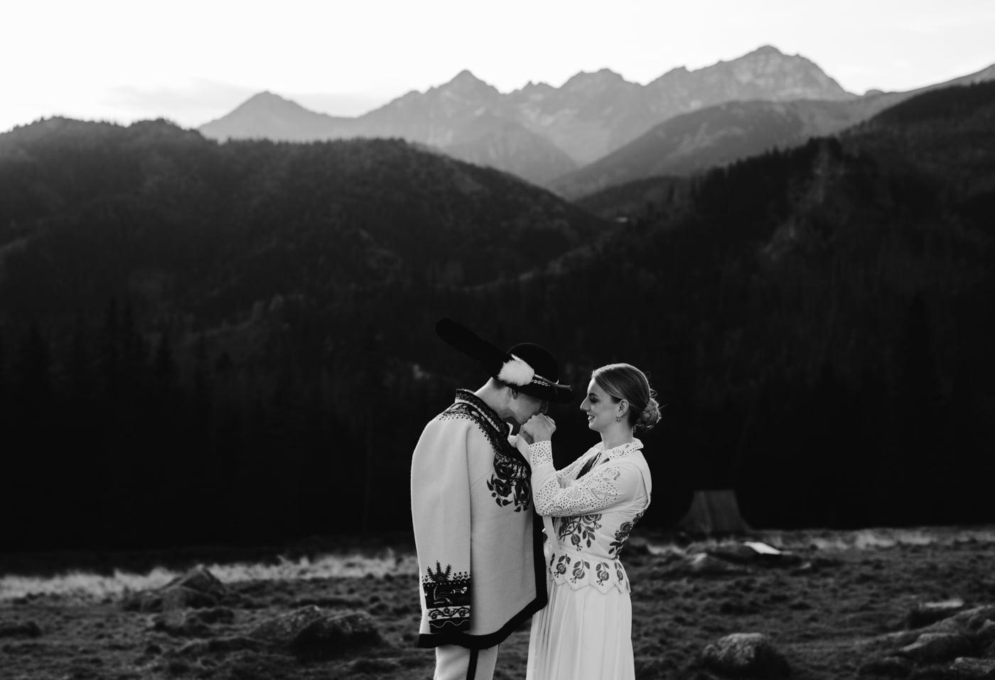 Sesja ślubna w Tatrach - Tradycyjnie 4