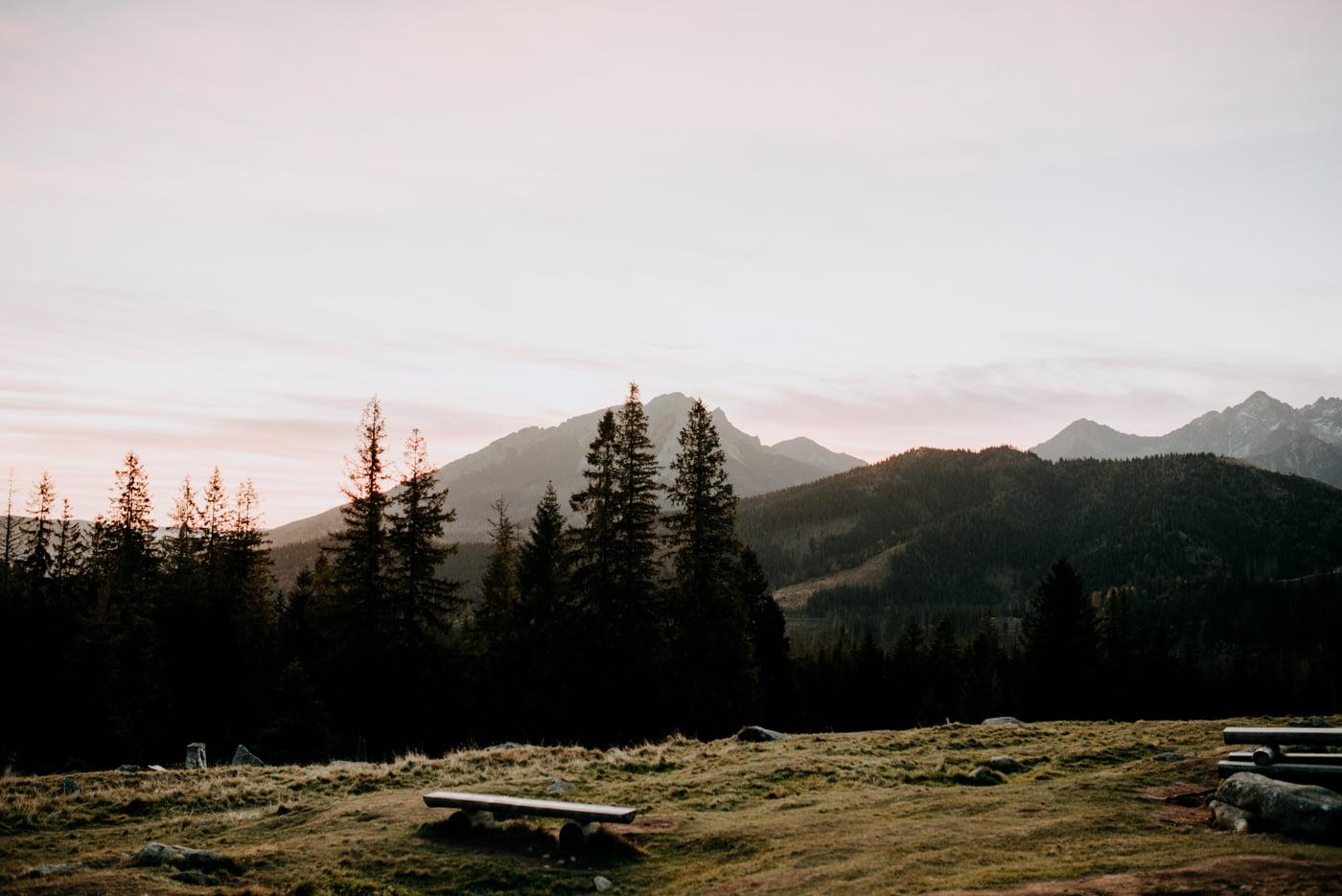 Sesja ślubna w Tatrach - Tradycyjnie 1
