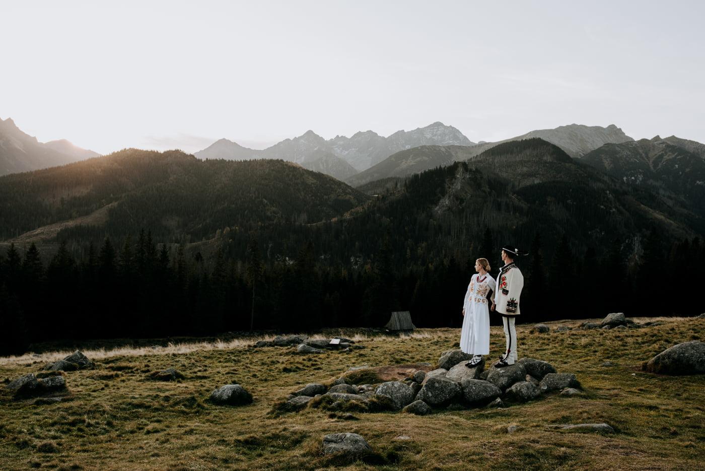 Sesja ślubna w Tatrach - Tradycyjnie 5