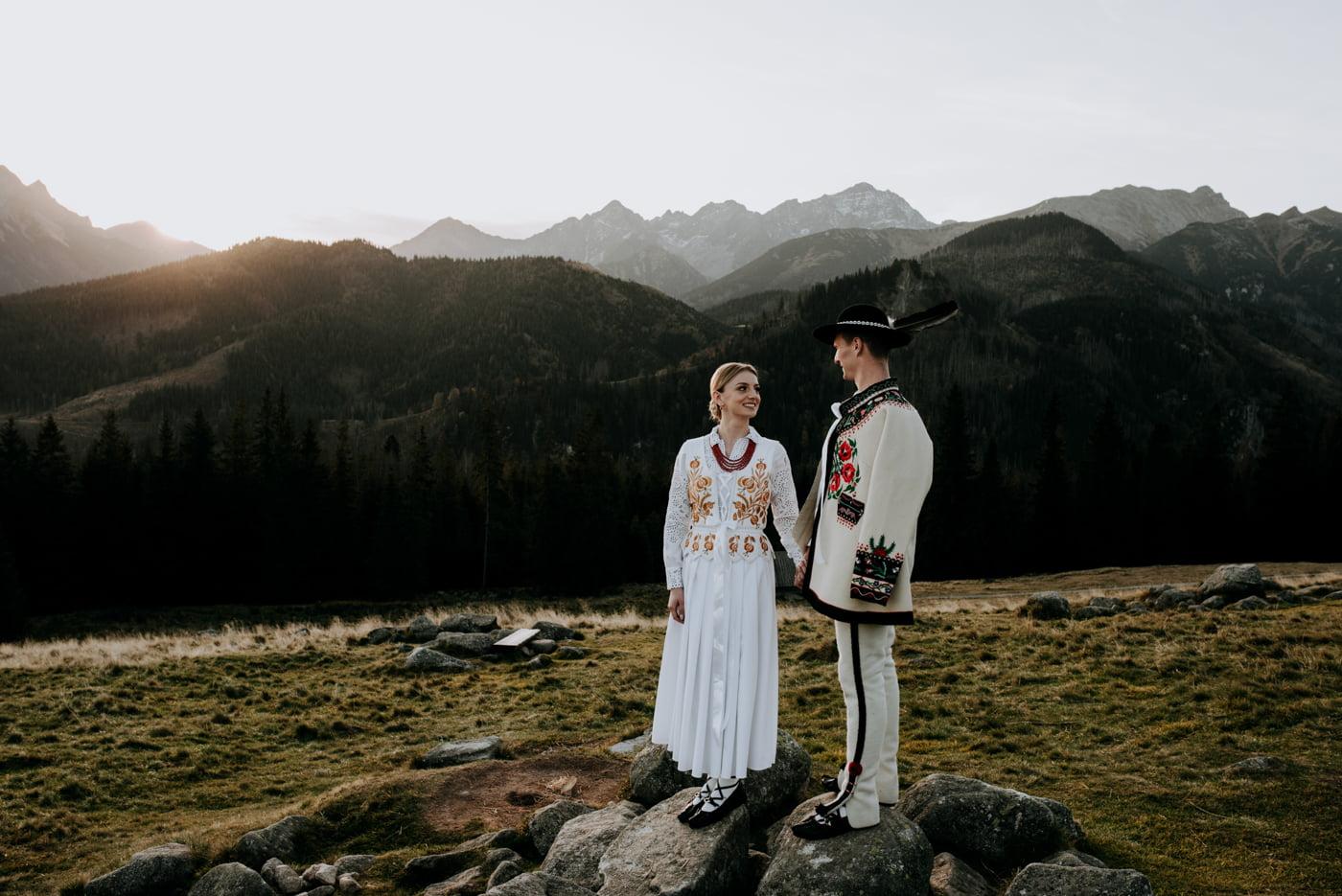 Sesja ślubna w Tatrach - Tradycyjnie 9