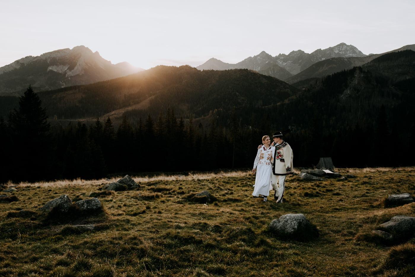 Sesja ślubna w Tatrach - Tradycyjnie 7