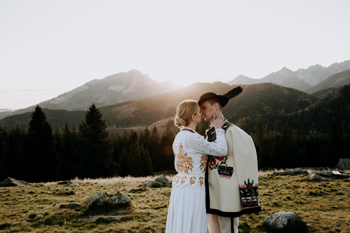 Sesja ślubna w Tatrach - Tradycyjnie 10