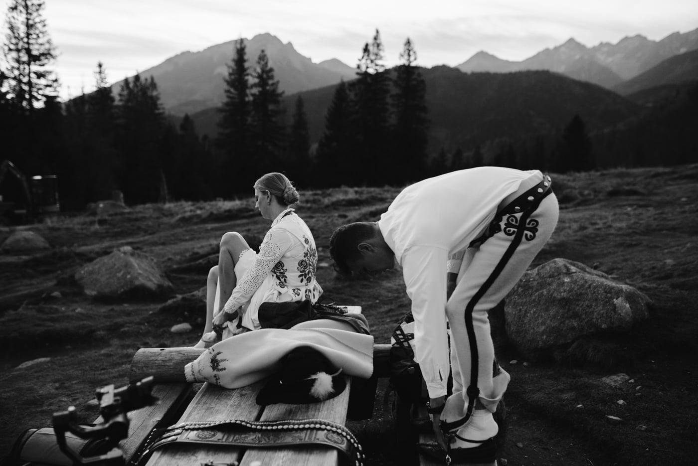 Sesja ślubna w Tatrach - Tradycyjnie 2