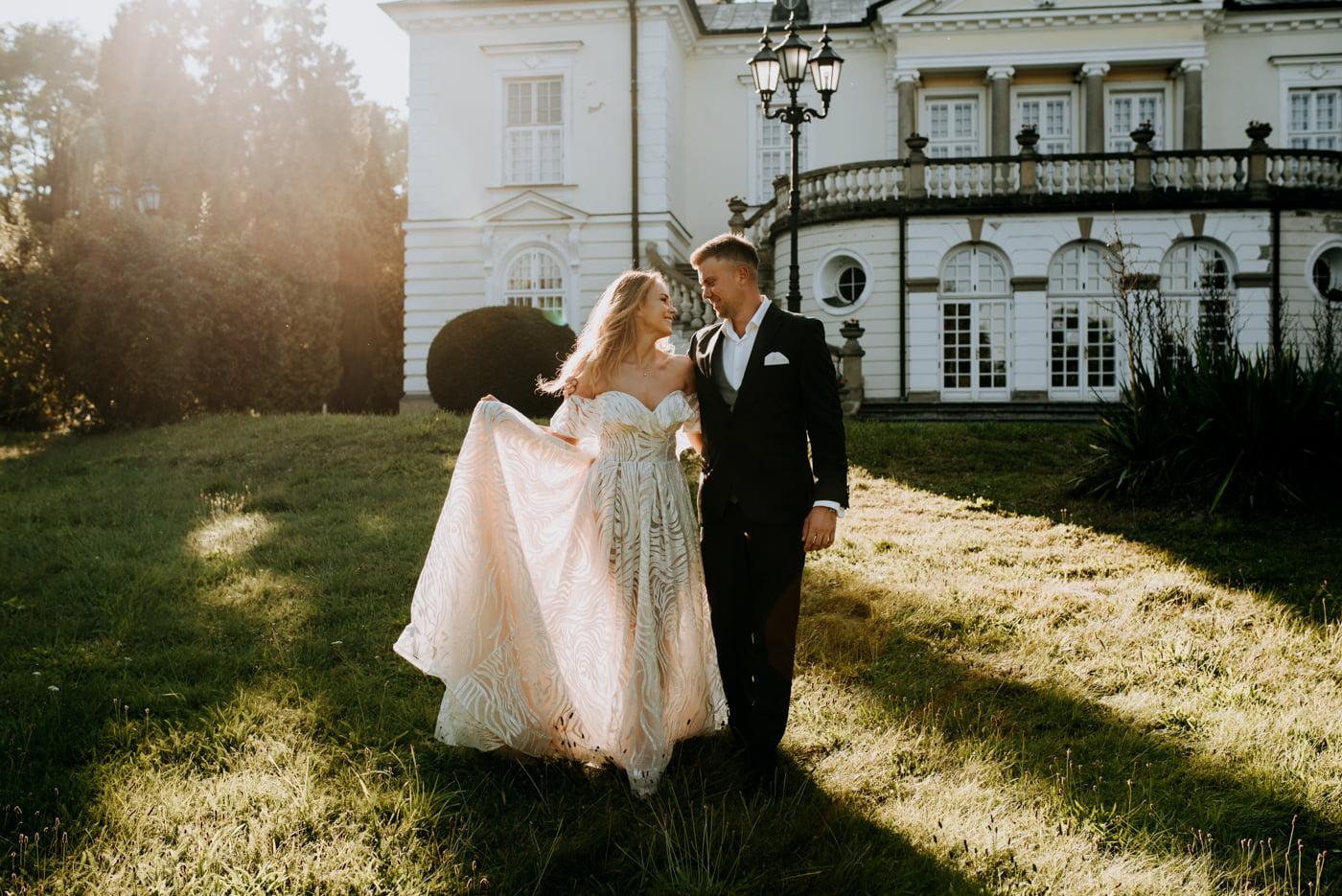 Sesja w pałacu Radziwiłłów- Katarzyna i Amadeusz 15