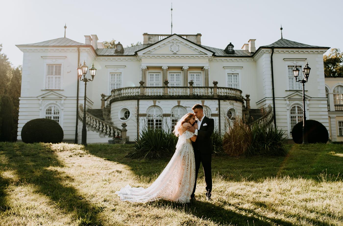 Sesja w pałacu Radziwiłłów- Katarzyna i Amadeusz 18
