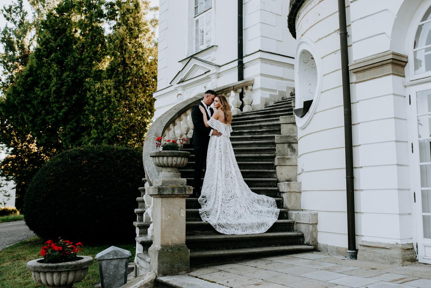 Sesja w pałacu Radziwiłłów- Katarzyna i Amadeusz 19