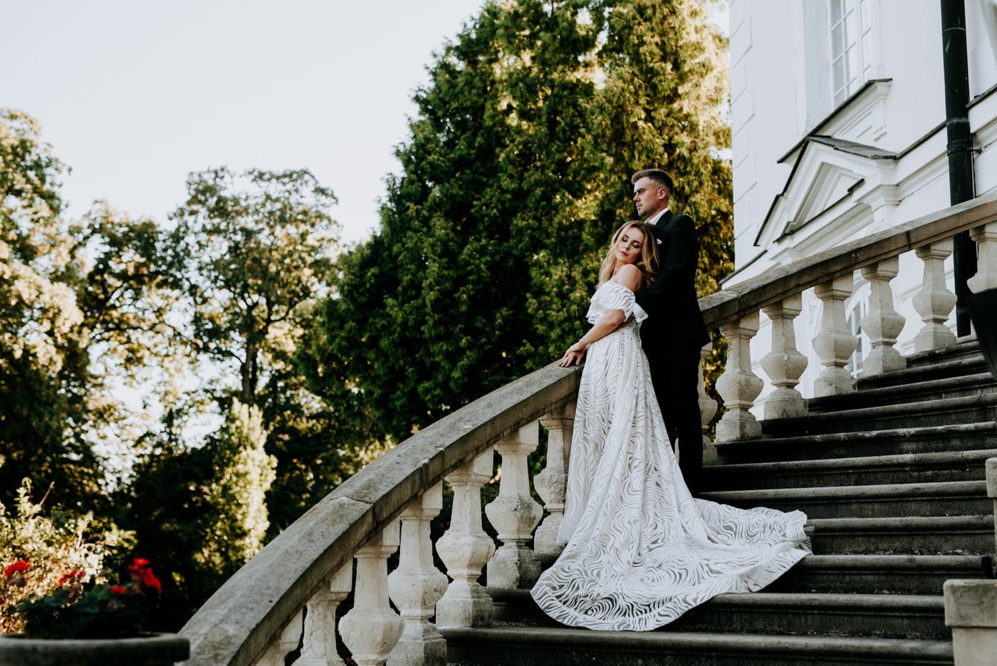 Sesja w pałacu Radziwiłłów- Katarzyna i Amadeusz 22