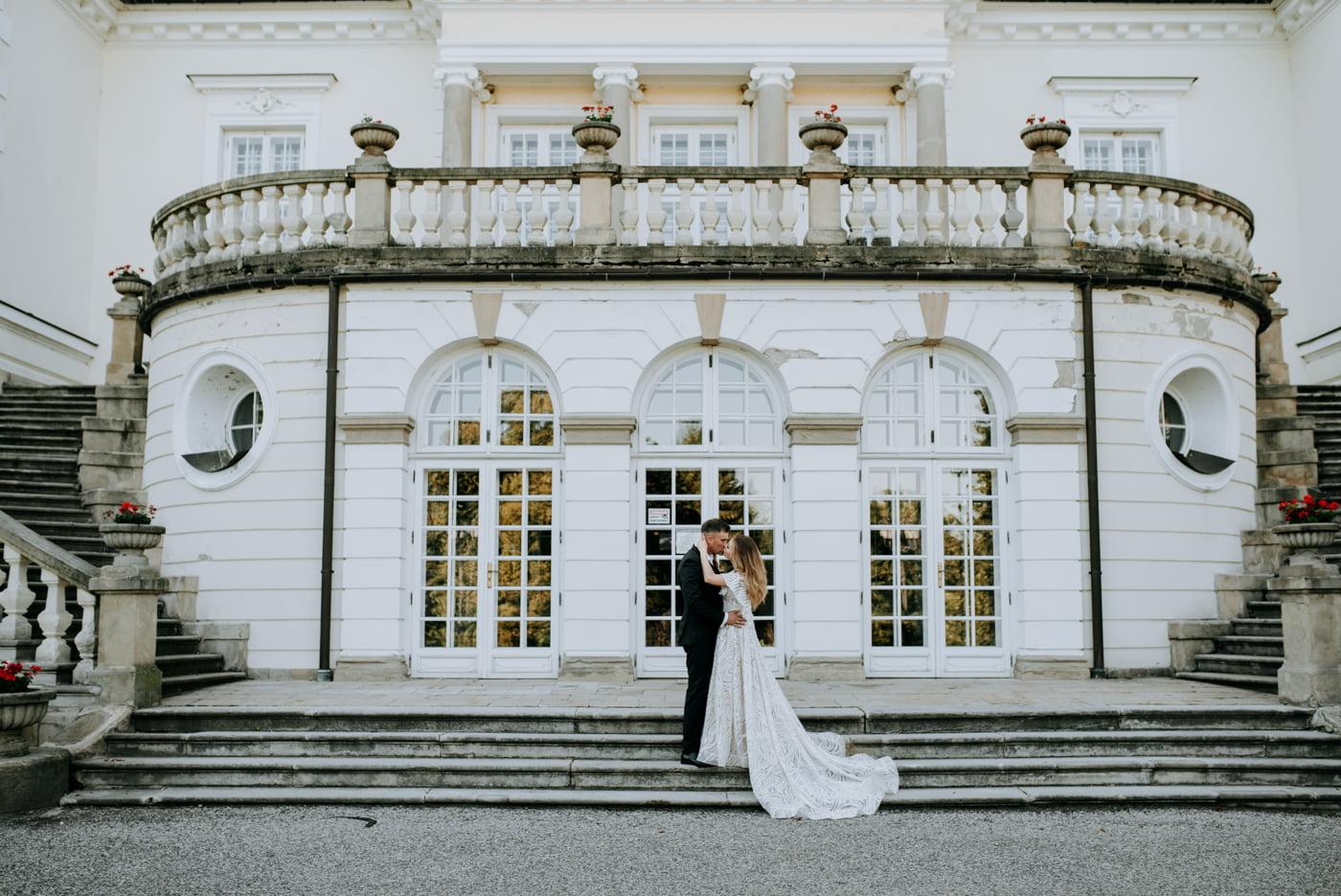 Sesja w pałacu Radziwiłłów- Katarzyna i Amadeusz 4