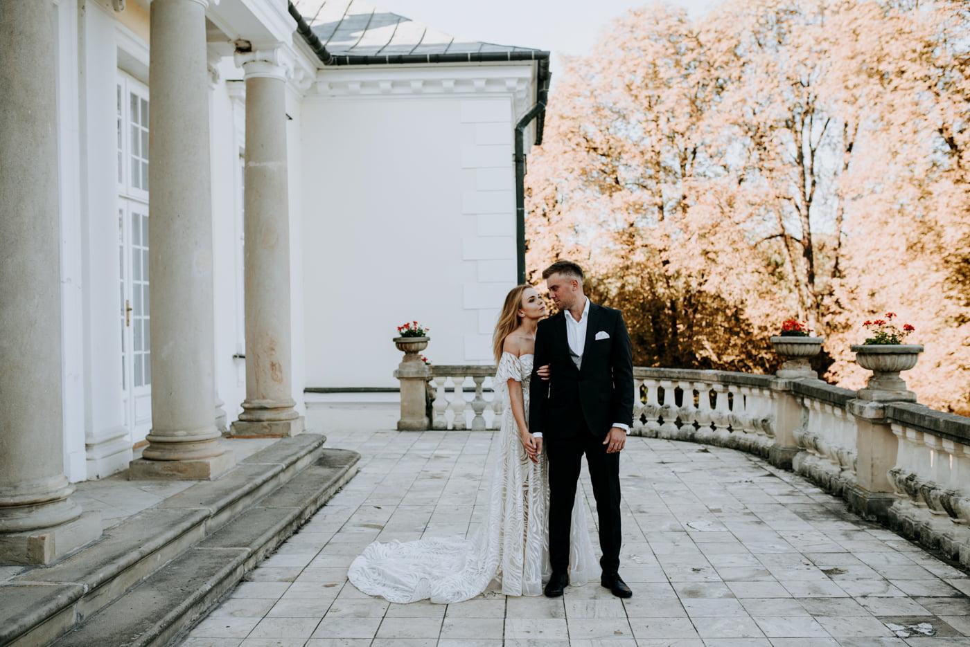 Sesja w pałacu Radziwiłłów- Katarzyna i Amadeusz 26