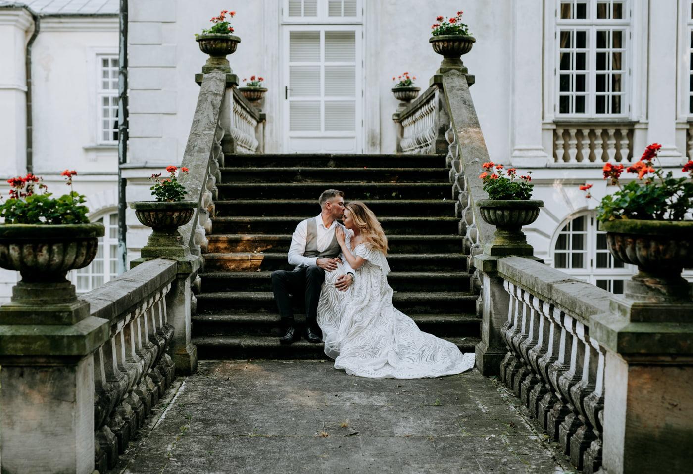 Sesja w pałacu Radziwiłłów- Katarzyna i Amadeusz 27