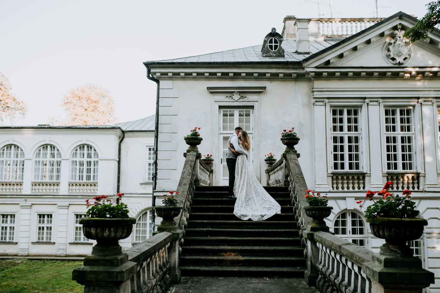 Sesja w pałacu Radziwiłłów- Katarzyna i Amadeusz 30