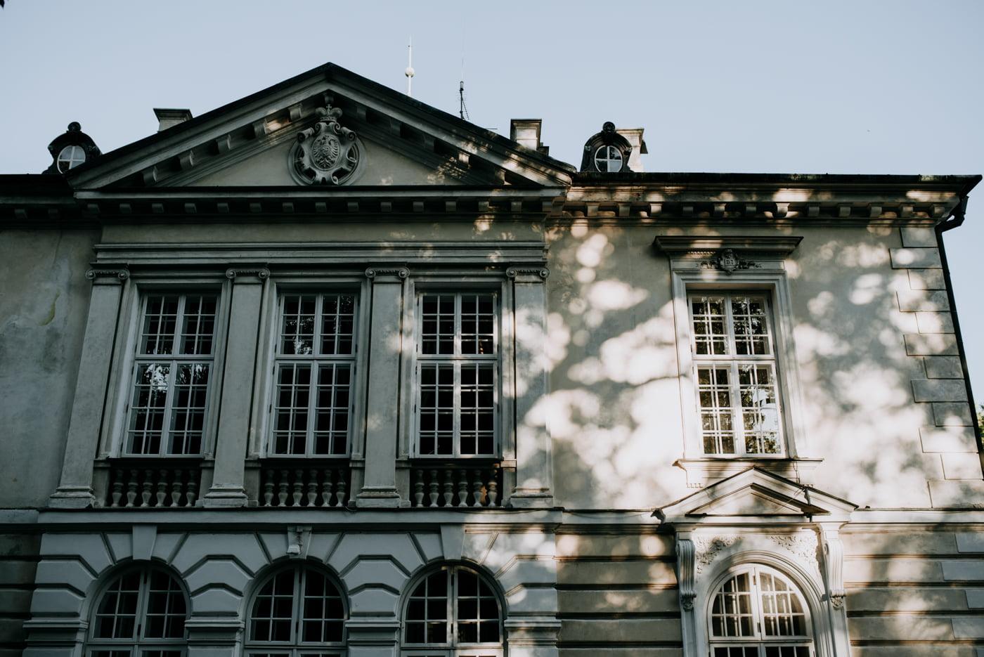 Sesja w pałacu Radziwiłłów- Katarzyna i Amadeusz 1