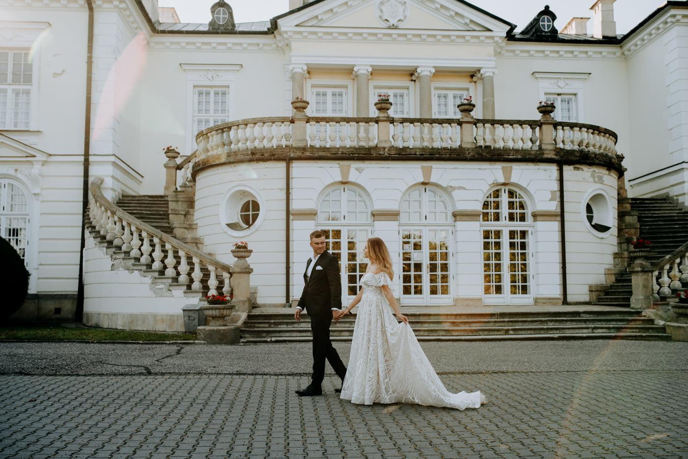 Sesja w pałacu Radziwiłłów- Katarzyna i Amadeusz 7