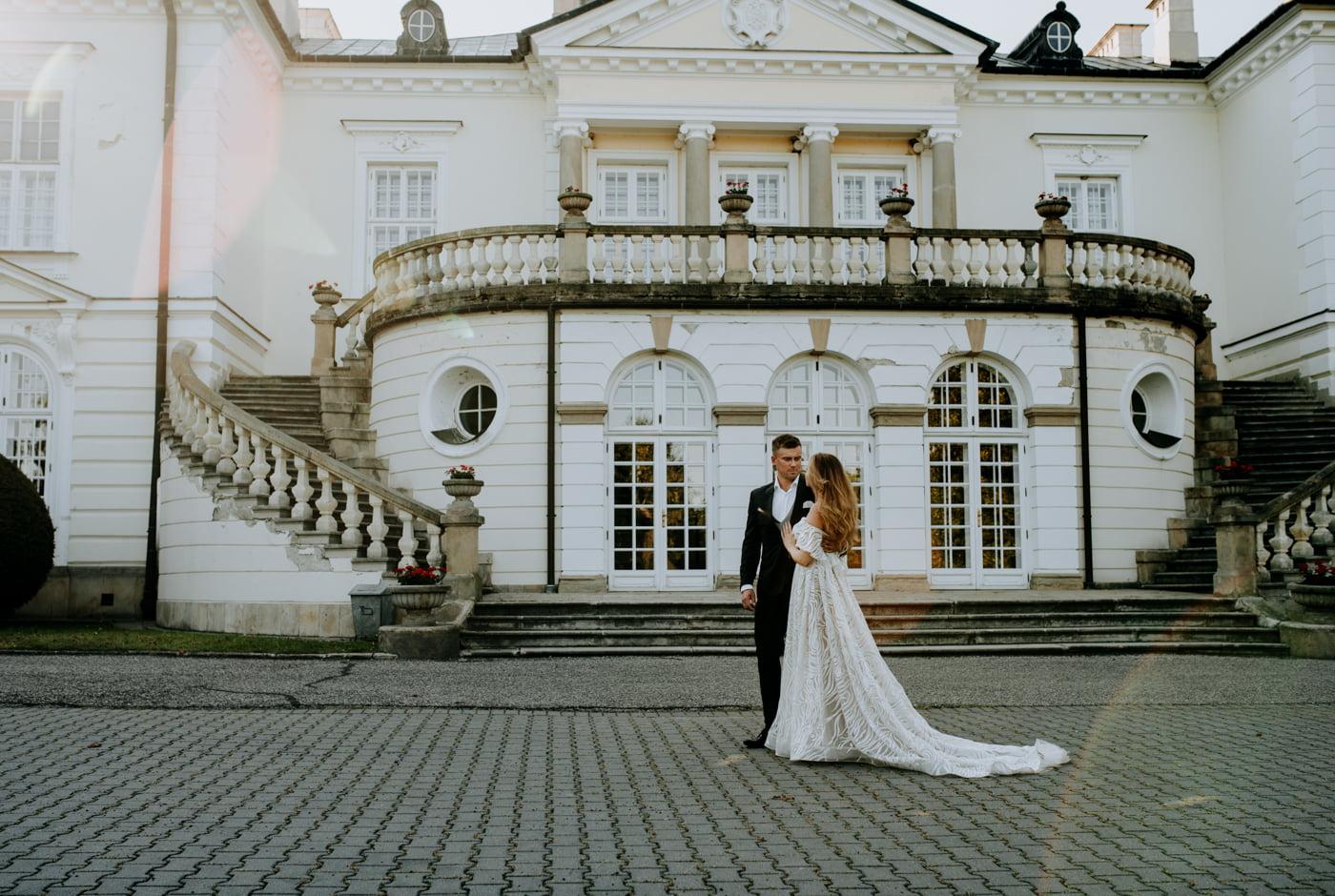 Sesja w pałacu Radziwiłłów- Katarzyna i Amadeusz 9