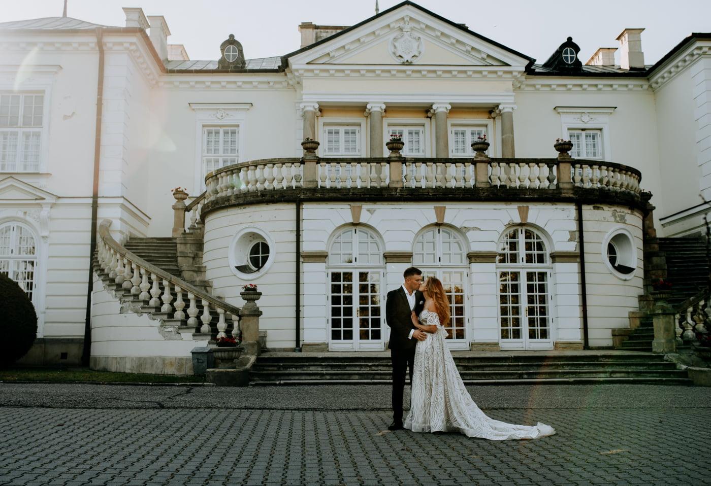 Sesja w pałacu Radziwiłłów- Katarzyna i Amadeusz 12
