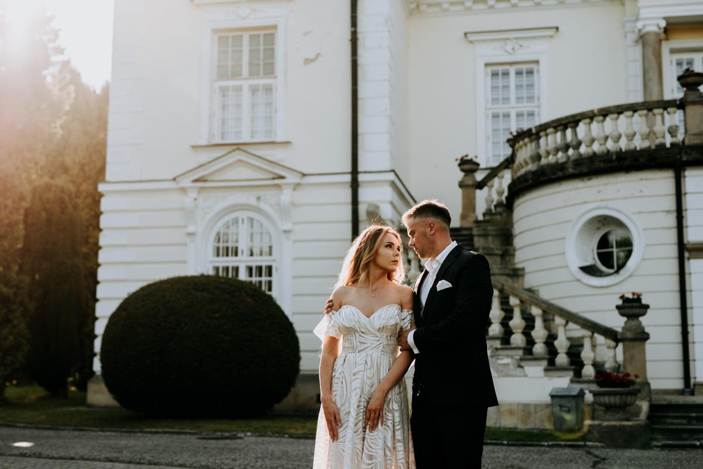Sesja w pałacu Radziwiłłów- Katarzyna i Amadeusz 8