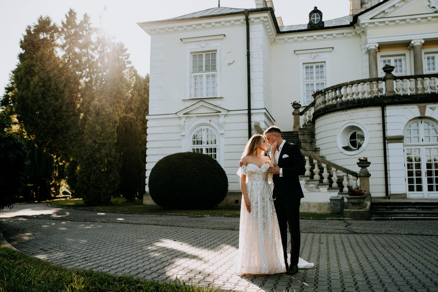 Sesja w pałacu Radziwiłłów- Katarzyna i Amadeusz 11