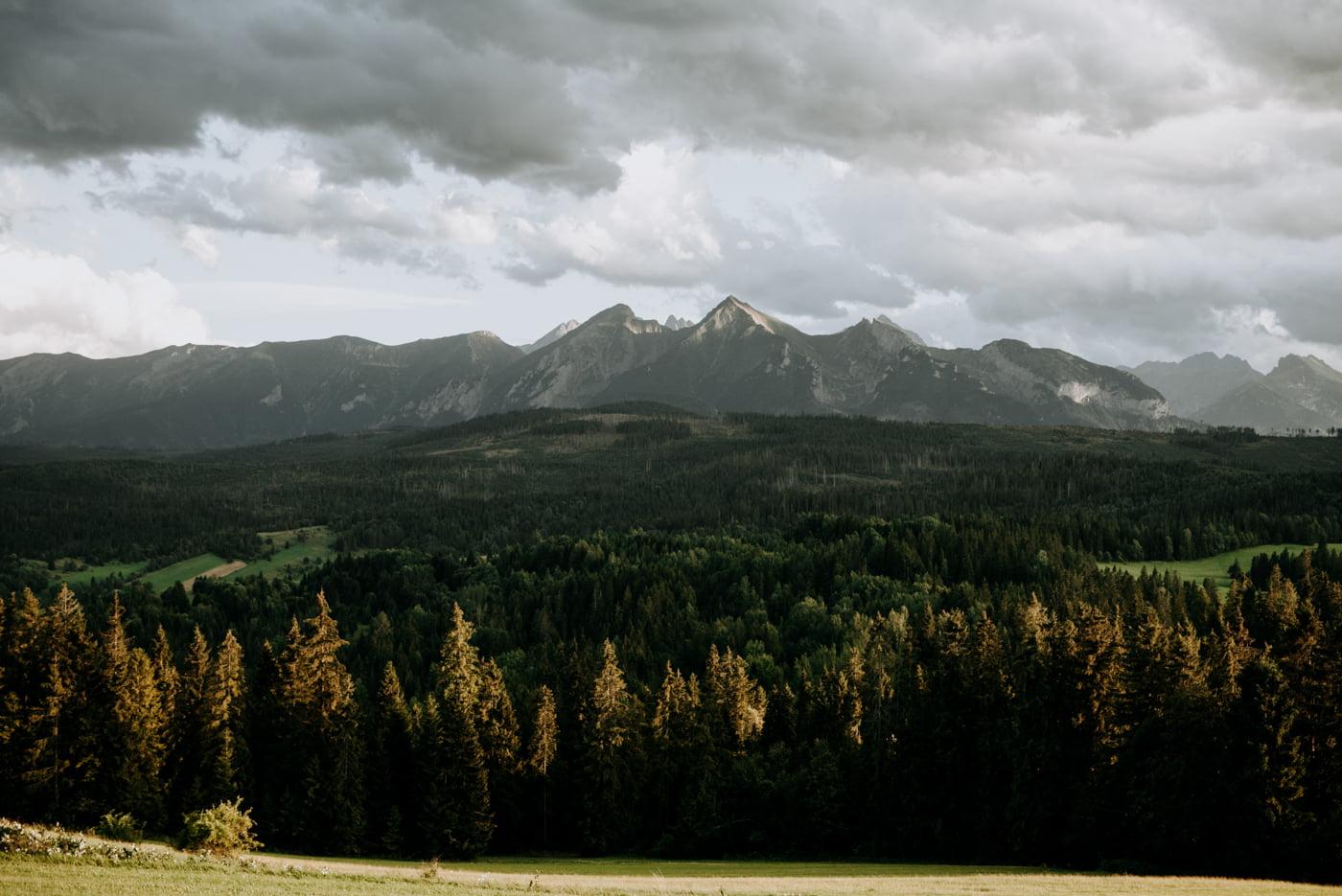 Sesja narzeczeńska w górach- Paulina i Filip 1