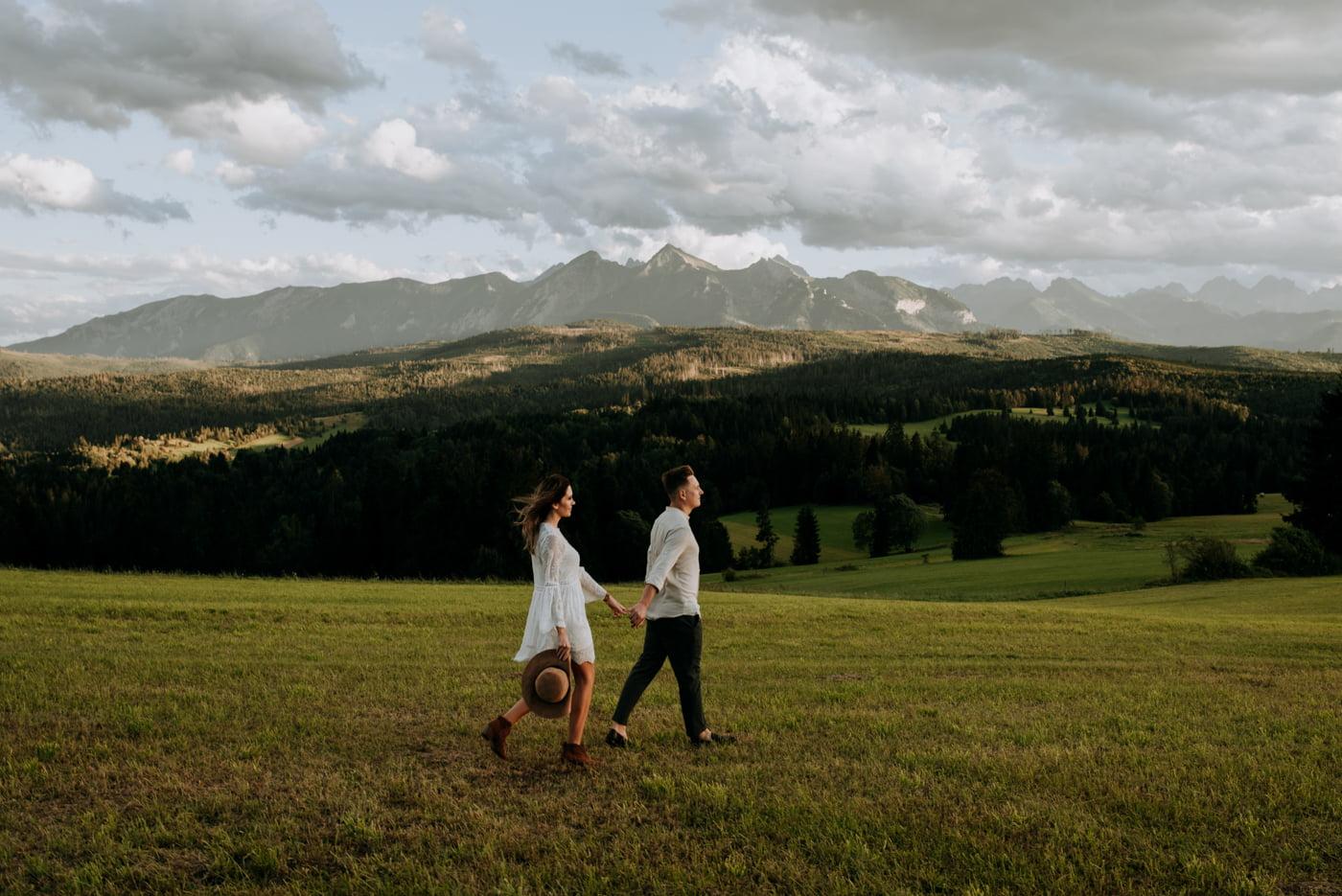 Sesja narzeczeńska w górach- Paulina i Filip 4