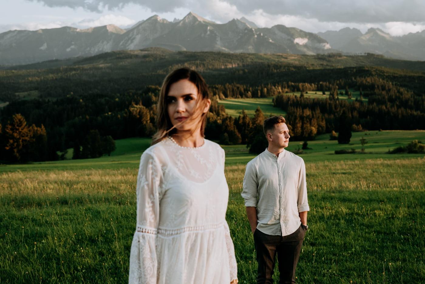 Sesja narzeczeńska w górach- Paulina i Filip 2