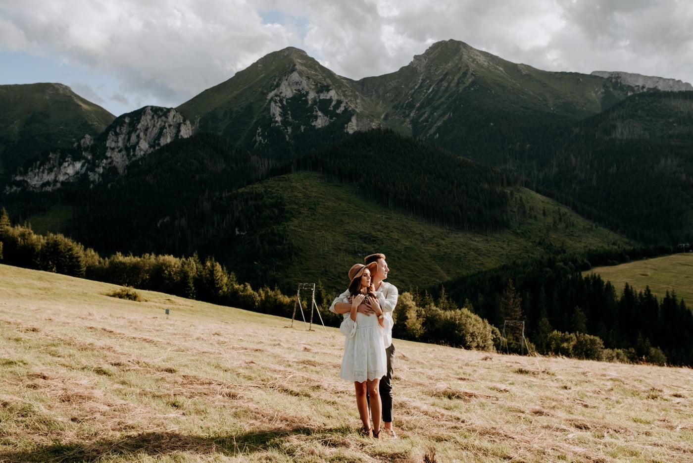 Sesja narzeczeńska w górach- Paulina i Filip 31