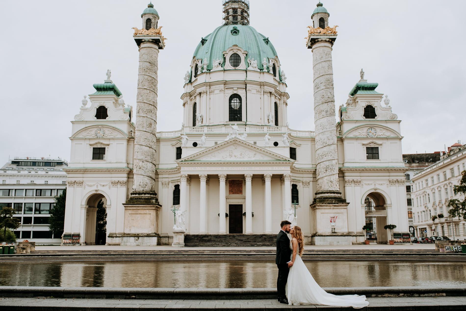 Sesja Ślubna w Wiedniu - Ania i Tomek 30