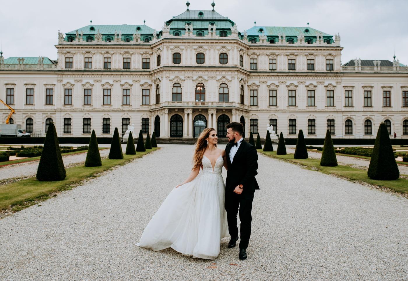 Sesja Ślubna w Wiedniu - Ania i Tomek 19