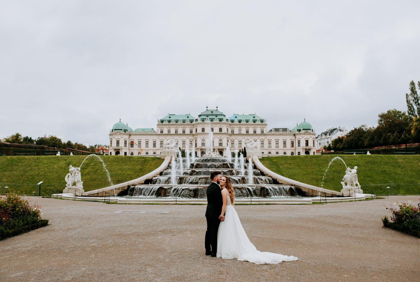 Sesja Ślubna w Wiedniu - Ania i Tomek 21