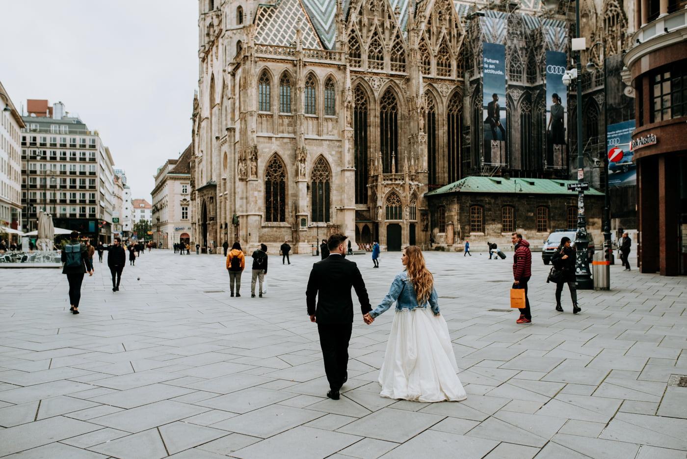 Sesja Ślubna w Wiedniu - Ania i Tomek 5