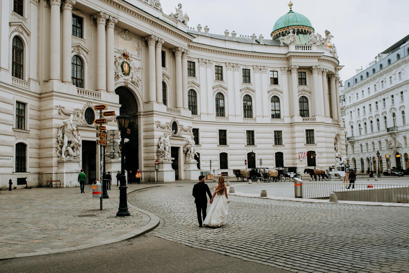 Sesja Ślubna w Wiedniu - Ania i Tomek 1
